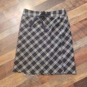 Tommy Hilfiger Black and cream skirt 4